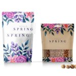 Hello Spring Stand up Pouch Mockup