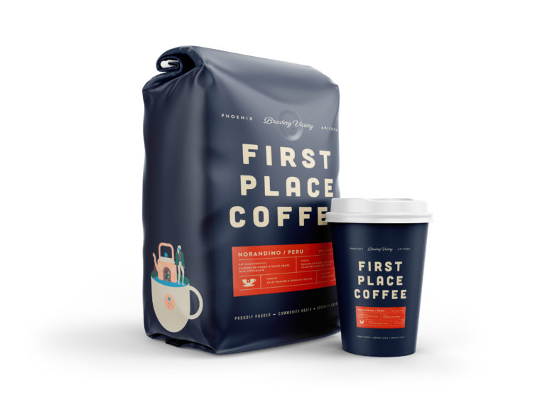 New Coffee Leave Packet Mockup