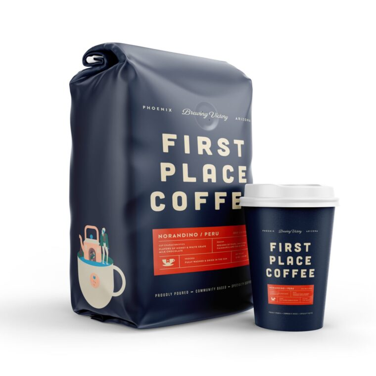 Coffee Leave Packet Mockup