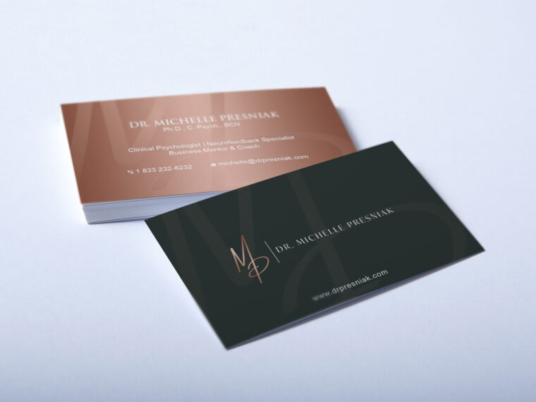 Premium Business Card Mockup