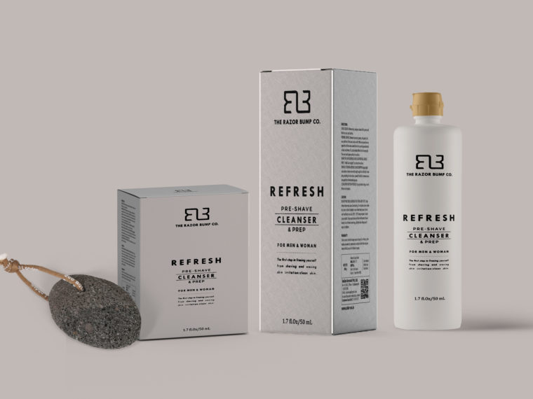 High Skin Care Packaging Mockup