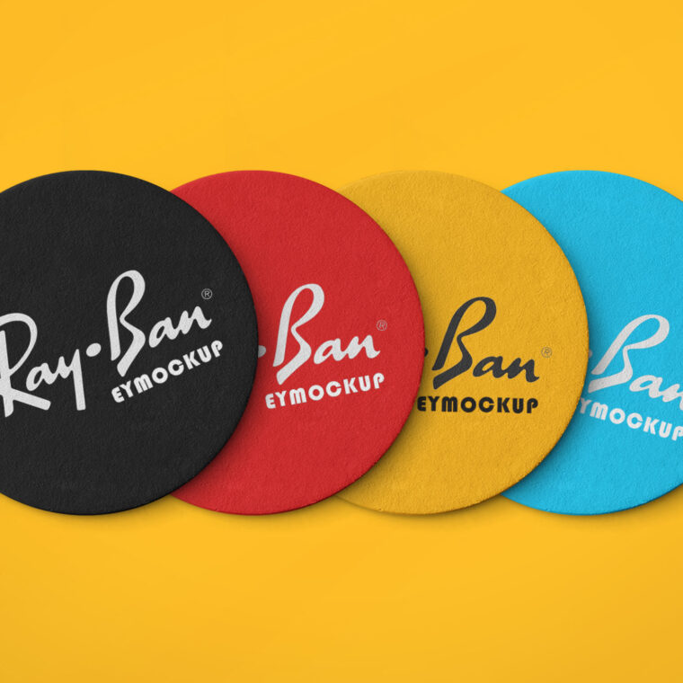Coaster Mockup Collection