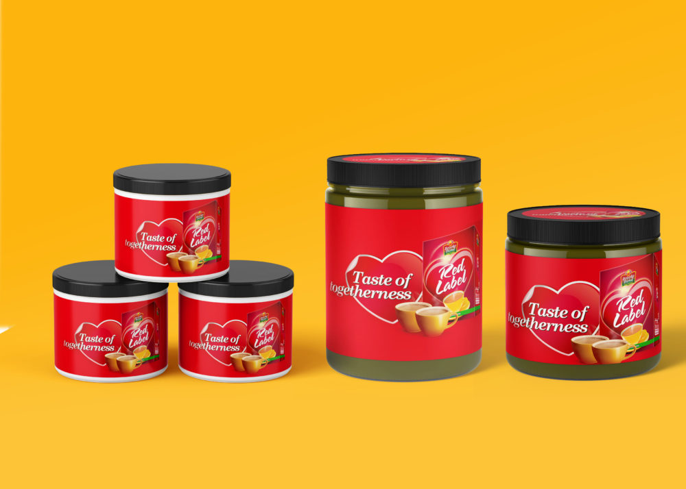 Chai Jar Collection Mockup
