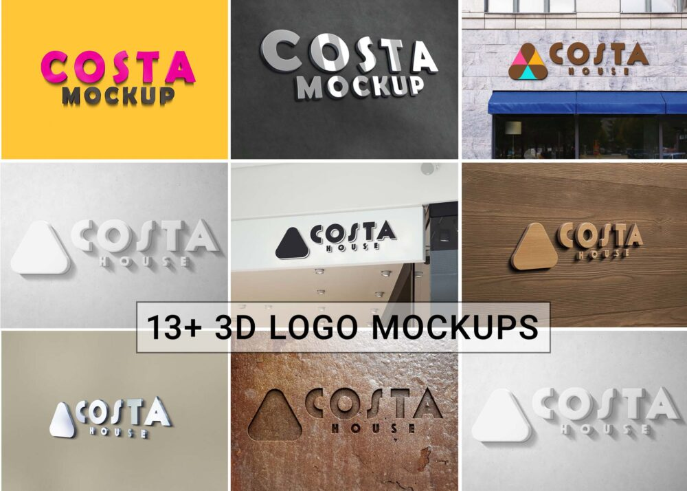 3D Mockup Collection