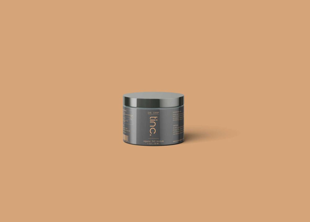 Cream Container Mock-up