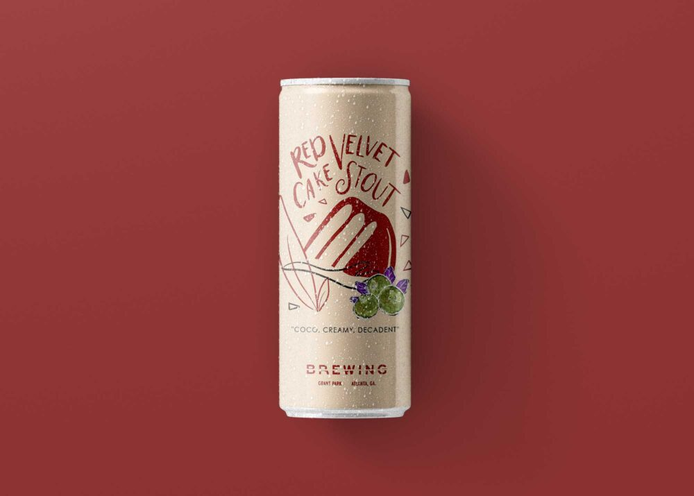 Coco Brewing Can Mock-up