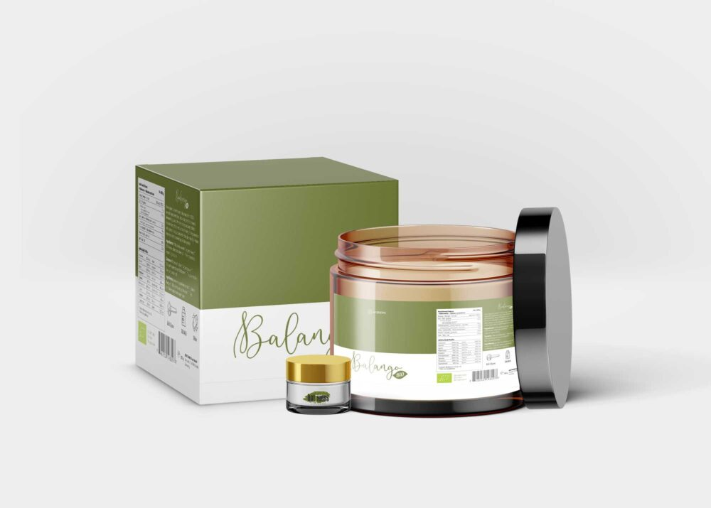 Hair Beauty Cream Jar Mockup