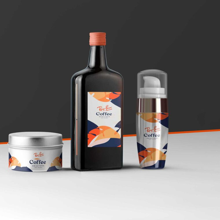 Massage Oil Product Mock-UP