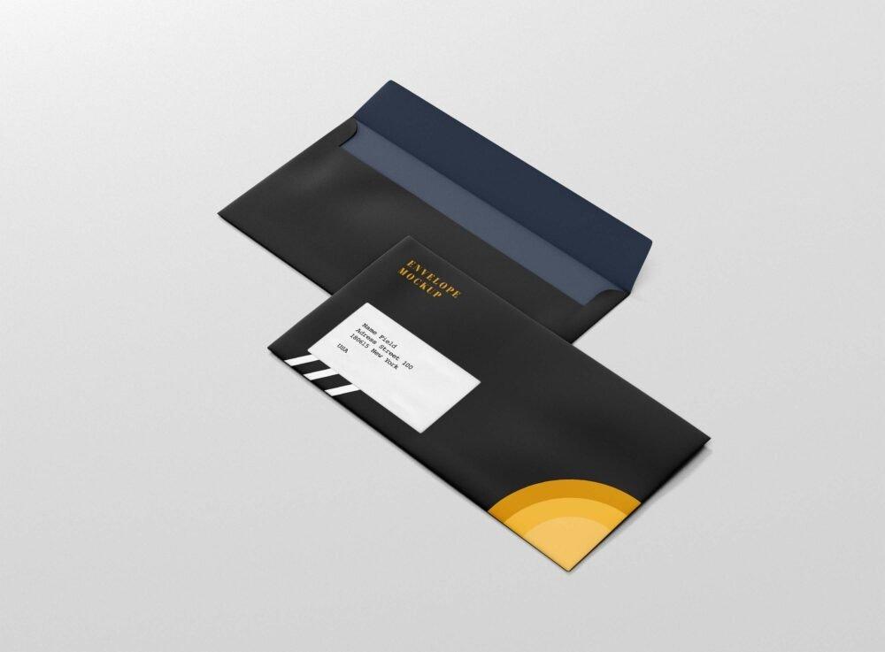 Big Envelope Design Mockup
