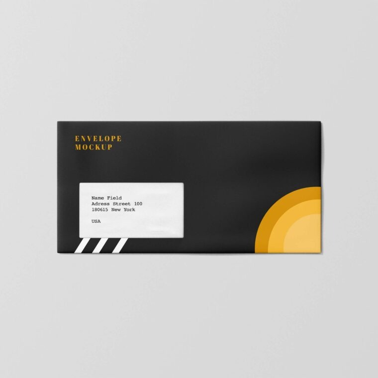 Big Envelope Design Mockup