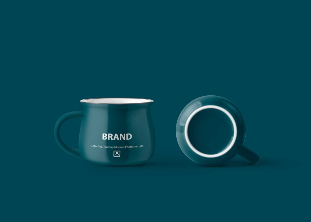 New Coffee Cup PSD Mockup