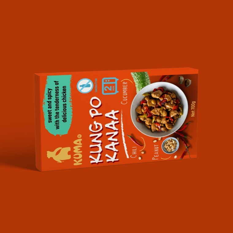 Dry Food Packet Box Mockup