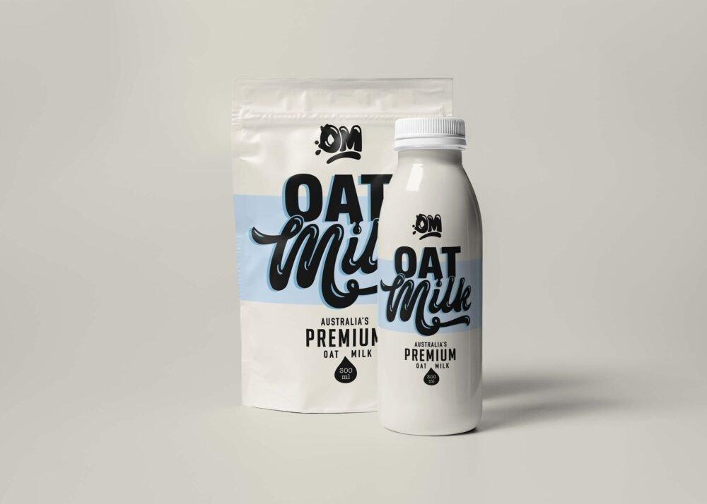Milk Packet Branding Mockup