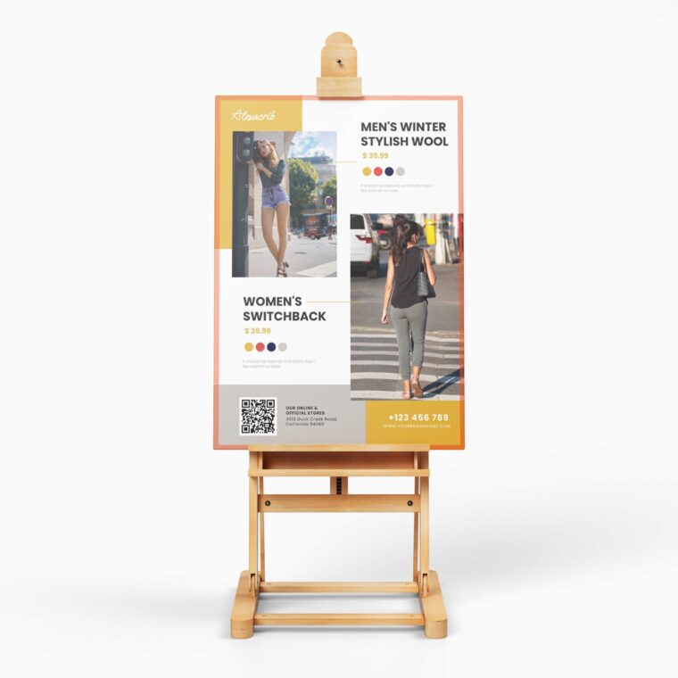 Stylish Street Fashion Flyer Design