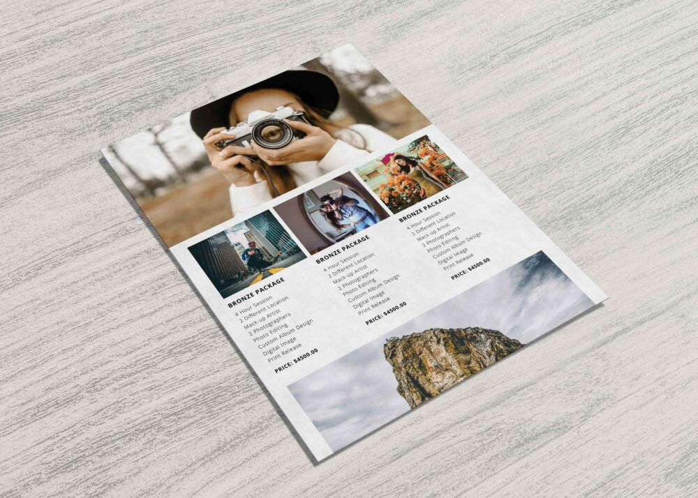Creative Photography Flyer Template 2021