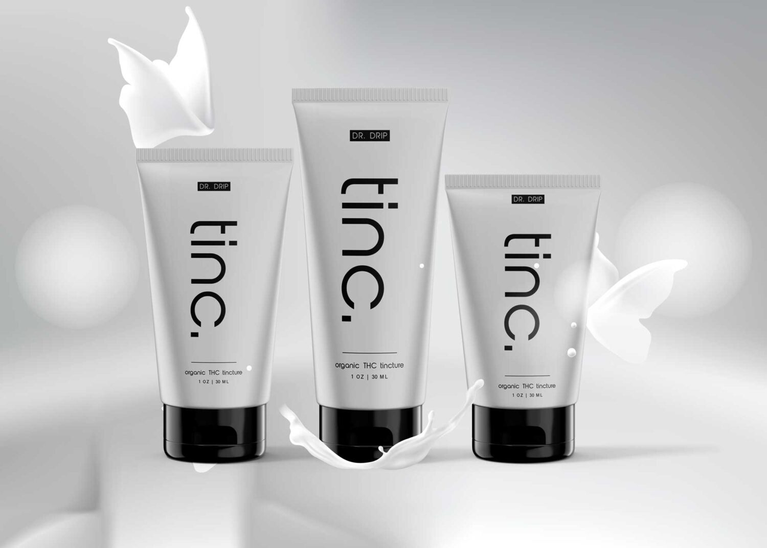 Face Clean Cosmetic Packaging Product Mockup