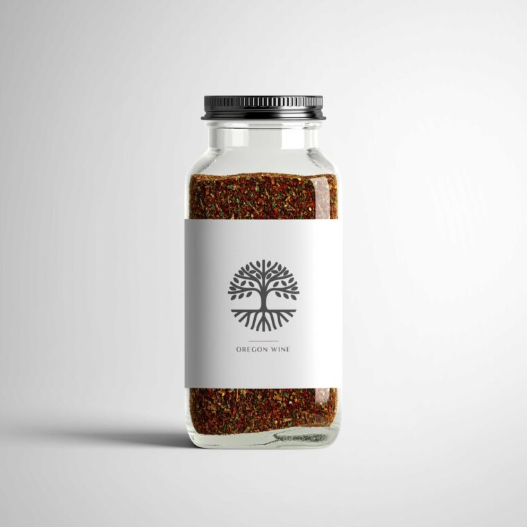 Glass Bottle Jar Mockup Bundle