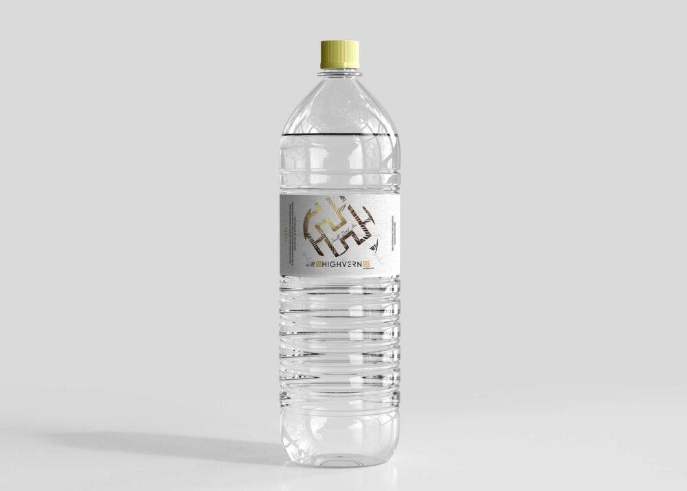 Premium Mineral Water Bottle Psd Mockup