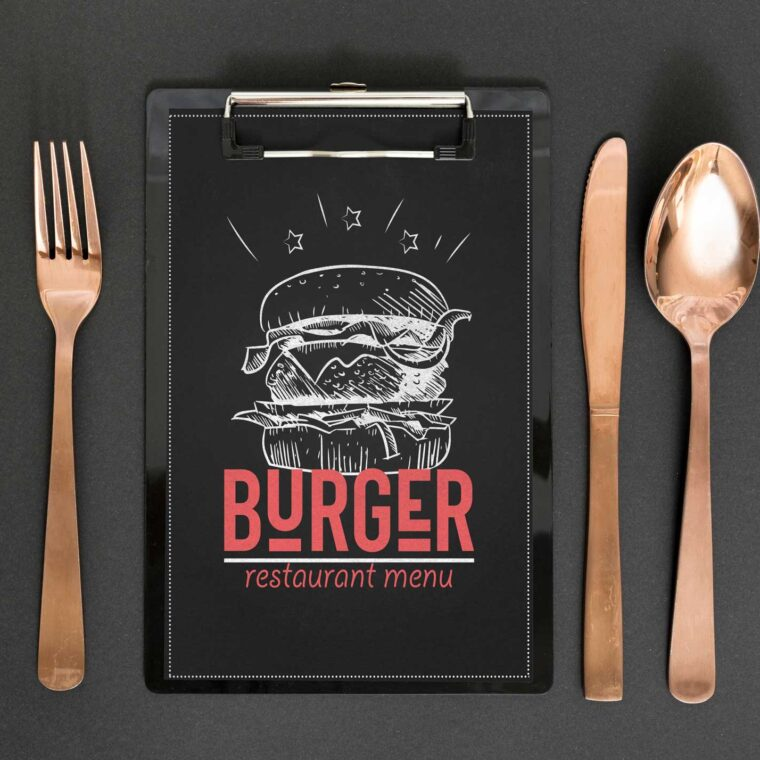 Burgar Resturant Menu Design Template