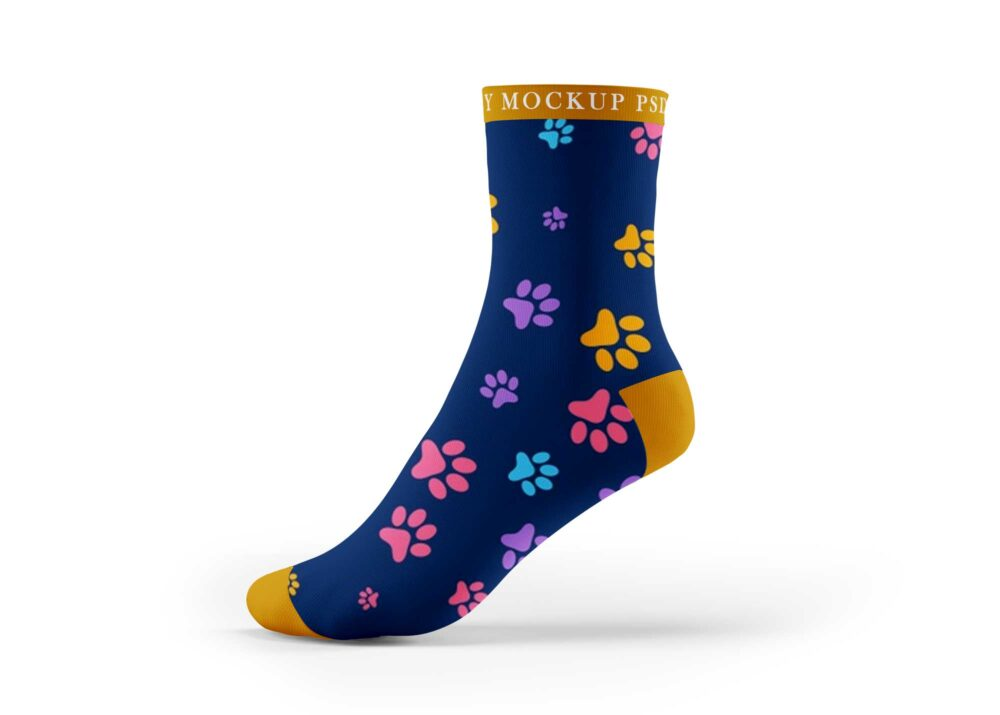 Athletic Socks Mockup