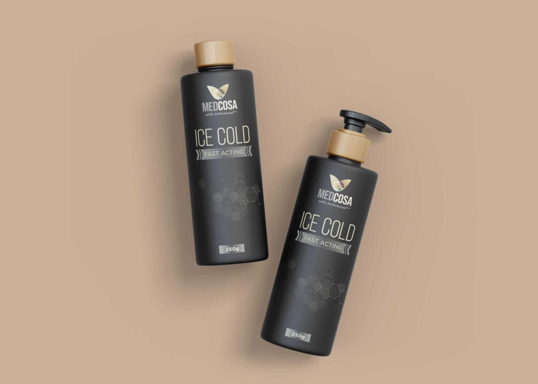 Keratin Shampoo Conditioner Bottle Mockup