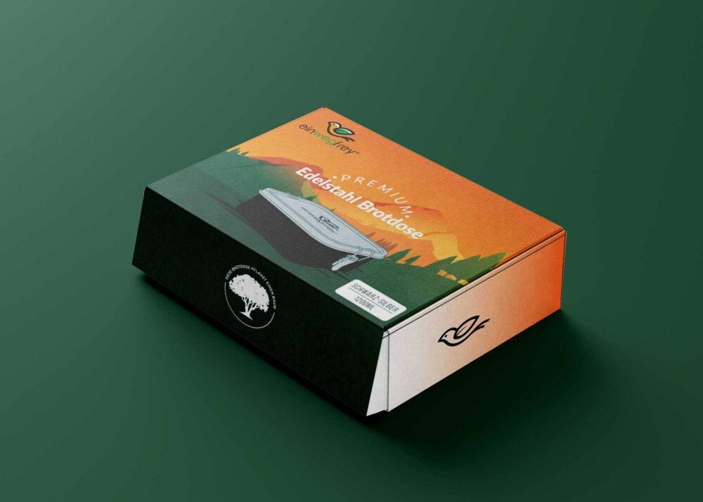 Lunch Box Packaging Mockup