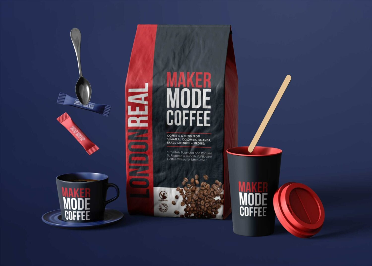 Coffee Pouch Mockups Collection