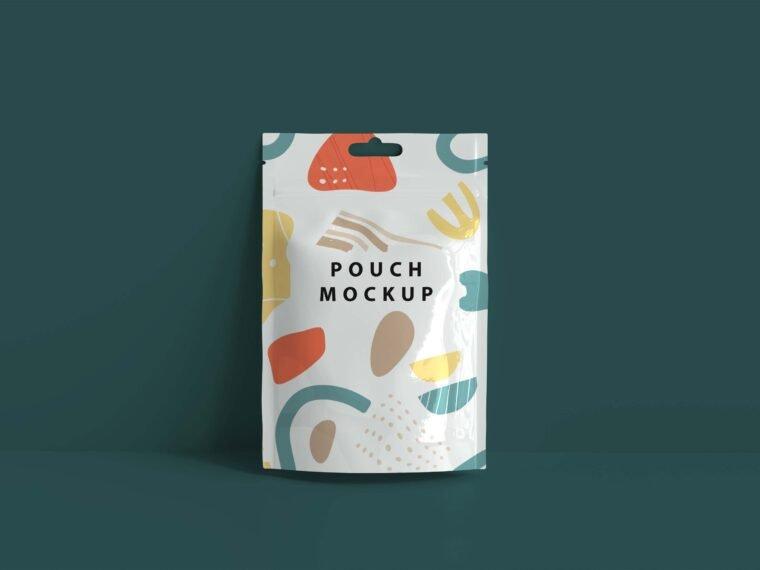Foil Sachet Mockup