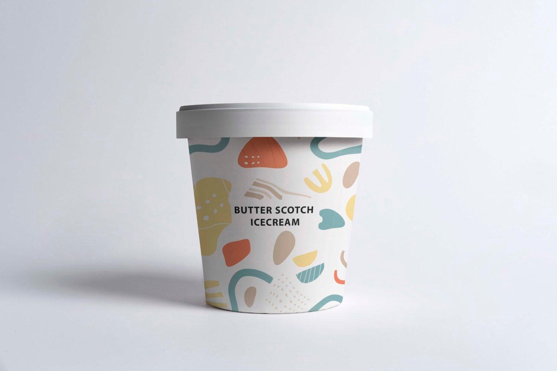 Ice Cream Jar Mockups