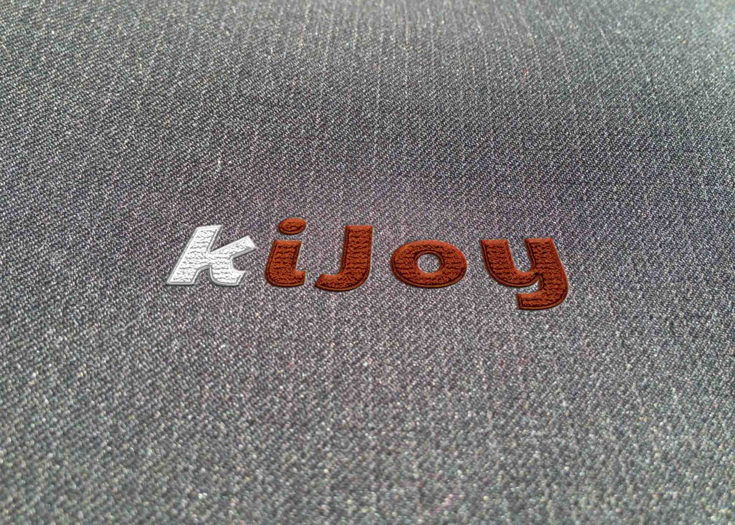 3D puff embroidery mockup